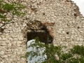 A torony udvar felőli fala 1. (részlet)