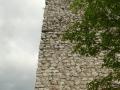 A torony udvar felőli fala 2. (részlet)