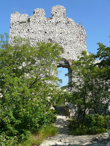 A torony az udvar felől 1.