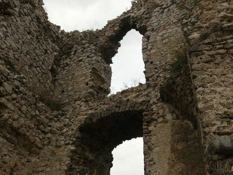 A torony belső fala 2. (részlet)
